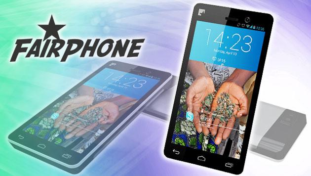 Weltweit erstes faires Smartphone geht in Produktion (Bild: Fairphone, krone.at-Grafik)