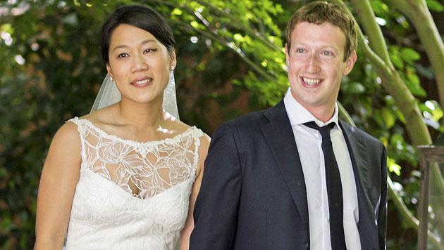 Mark Zuckerberg: Ehevertrag regelt Sexleben (Bild: EPA)