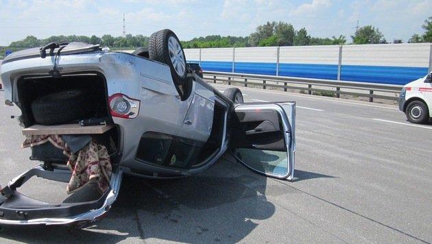 NÖ: Fünf Verletzte bei schwerem Unfall auf der A22 (Bild: APA/FF KORNEUBURG)