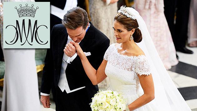 Schöne Prinzessin Madeleine hat ihren Chris geheiratet (Bild: AP)