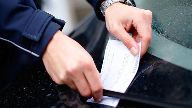 Falsch geparkt: 1.500 Euro Strafe für Wiener (Bild: APA/GEORG HOCHMUTH (Symbolbild))