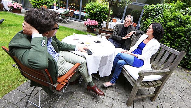 """""""Sind Faymann und Spindelegger regierungsfähig?"""" (Bild: Gerhard Bartel)"""