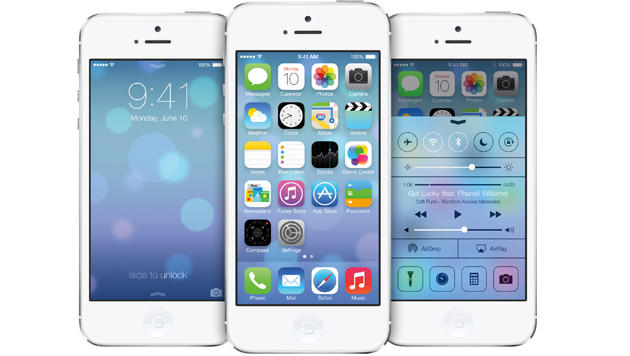 Frischer Look: So fühlt sich Apples neues iOS 7 an (Bild: Apple)