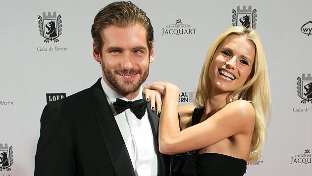 Hunziker und Trussardi verschieben Hochzeit (Bild: EPA)