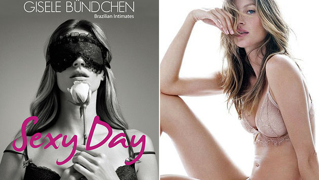 """Lui""-Cover: Gisele Bündchen posiert nackt im Pool (Bild: Twitter, Instagram)"