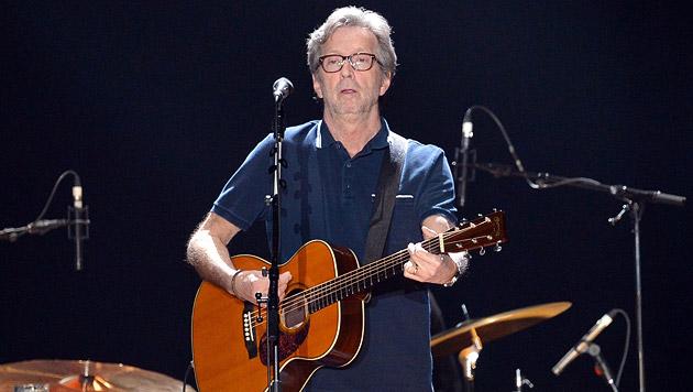 Eric-Clapton-Konzert in Wiener Stadthalle abgesagt (Bild: EPA)