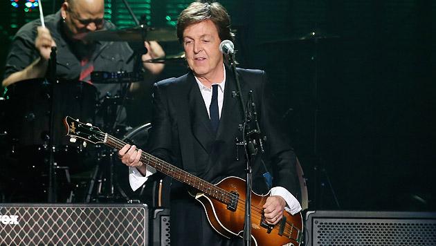 Paul McCartney im Gespräch über sein Wien-Konzert (Bild: AFP)
