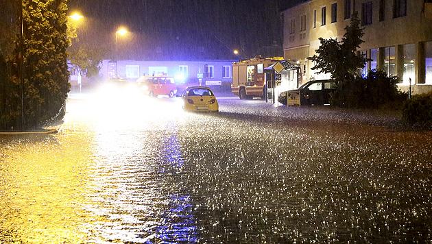 Wetterkapriolen reißen nicht ab - kein Aufatmen in NÖ (Bild: APA/BFKDO HOLLABRUNN)