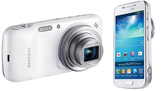 Samsung kündigt Foto-Smartphone Galaxy S4 Zoom an (Bild: Samsung)