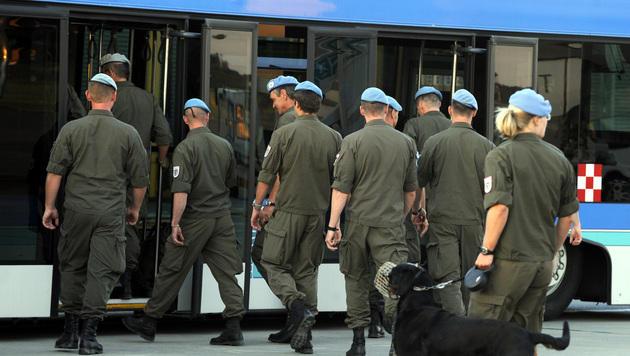 UNO: Österreich soll Abzug vom Golan zeitlich strecken (Bild: APA/HERBERT PFARRHOFER)
