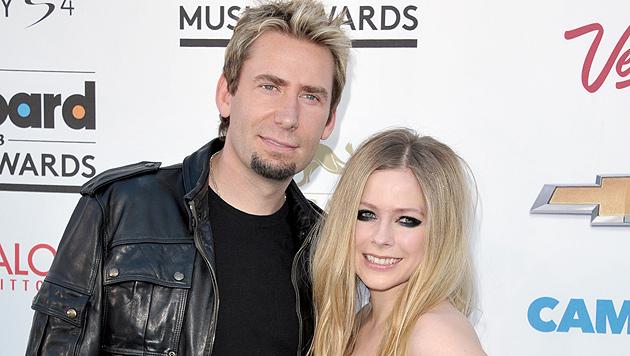 Avril Lavigne und Chad Kroeger haben geheiratet (Bild: AP)