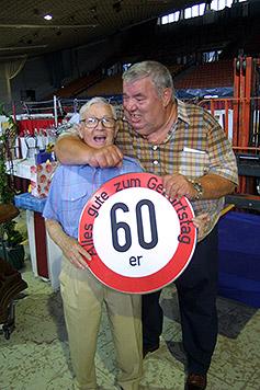 """Catch-Ikone """"Big Otto"""" Wanz feiert seinen 70er (Bild: Christian Jauschowetz)"""