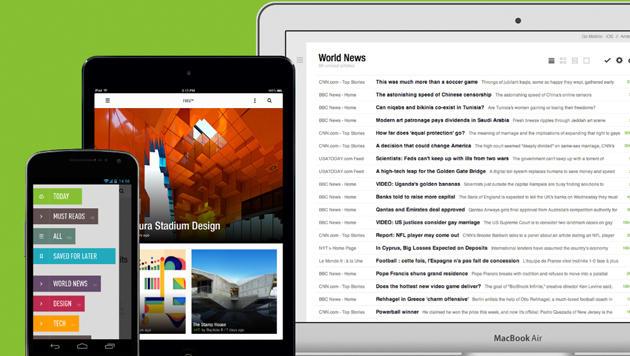 Google Reader macht dicht, User wechseln zu Feedly (Bild: Feedly)