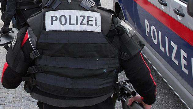 Großeinsatz in Graz wegen erfundener Schießerei (Bild: APA/SALZI.AT (Symbolbild))