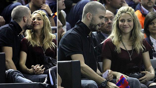 Shakira fand durch Gerard Piqué zurück zu ihrem Glauben (Bild: EPA)