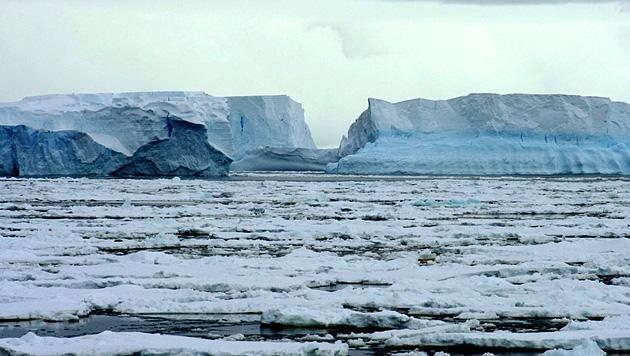 Eiszuwachs an den Polen �berrascht Klimaforscher (Bild: EPA)