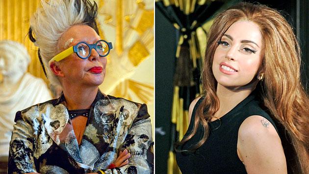 Künstlerin Orlan verklagt Lady Gaga auf 31,5 Mio. Dollar (Bild: EPA)