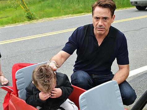 Robert Downey Jr. bringt kleinen Buben zum Weinen (Bild: Heather Denno)