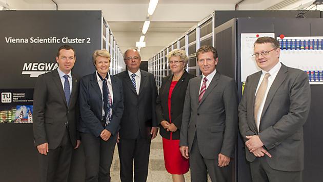 Supercomputer aus Wien soll unter die Top 100 kommen (Bild: APA)