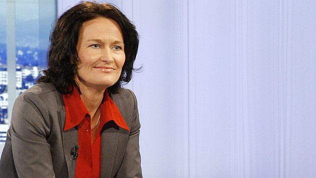 """Glawischnig: Bei SP-VP-Mehrheit nicht """"Dritte im Boot"""" (Bild: APA/Milenko Badzic/ORF)"""