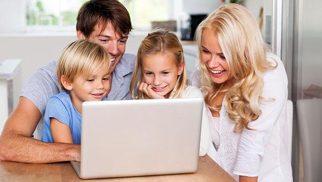 Interneterziehung: So sind Ihre Kinder im Netz sicher (Bild: thinkstockphotos.de)