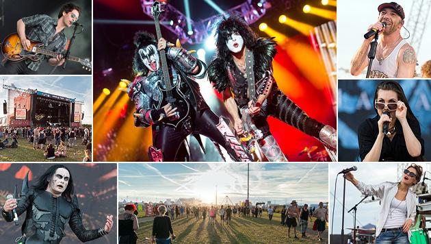 Star-Rocker Kiss: Von langen Zungen und alten Tophits (Bild: Andreas Graf)