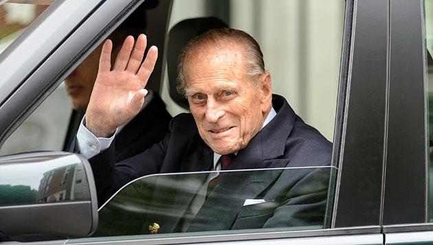 Prinz Philip hat Londoner Spital verlassen (Bild: EPA)
