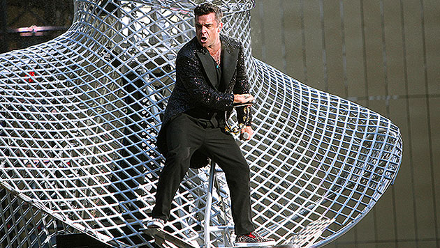 Robbie Williams holt sich die Pop-Krone zurück (Bild: Norbert Ivanek)