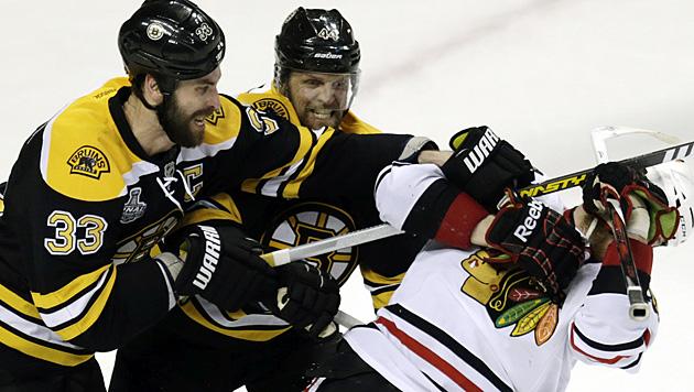 Boston geht gegen Chicago erstmals in Führung (Bild: AP)
