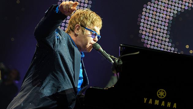 Elton John sorgt in Wien für Standing Ovations (Bild: Andreas Graf)