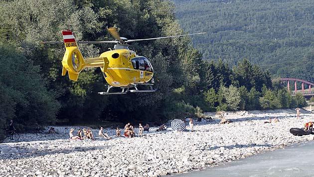 Fünf Kinder aus reißendem Fluss in Salzburg gerettet (Bild: Markus Tschepp)