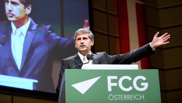 """ÖVP-Chef fordert Kritik """"an diesem Werner Faymann"""" (Bild: APA/ROBERT JAEGER)"""
