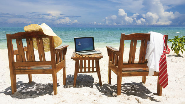 Sommerhitze kann zum Laptop-Killer werden (Bild: thinkstockphotos.de)
