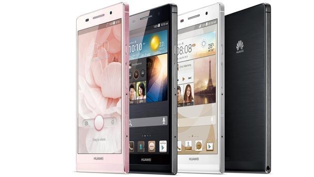 Huawei stellt weltweit dünnstes Smartphone vor (Bild: Huawei)