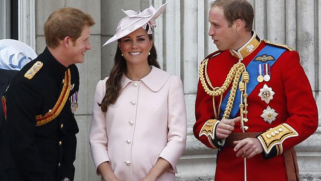 Kate & William: Königliches Baby im bürgerlichen Heim (Bild: AP)