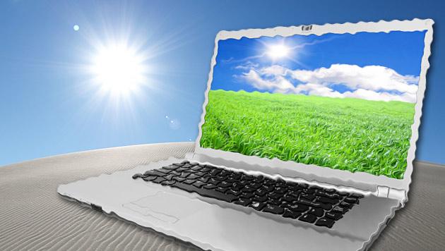 Notebook und Co. könnten Hautkrebsrisiko erhöhen (Bild: © [2009] JupiterImages Corporation)