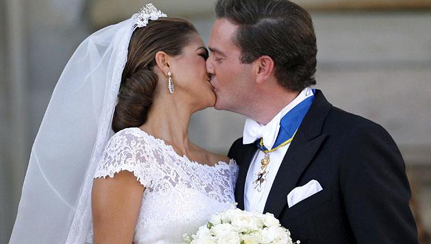 """Prinzessin Madeleine und Chris O""""Neill (Bild: EPA)"""