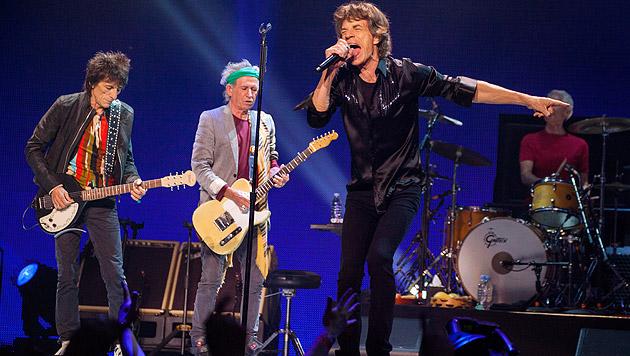 Rolling Stones kündigen neues Studioalbum an (Bild: AP)