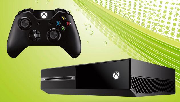 Xbox One: Absatz nach Preissenkung verdoppelt (Bild: thinkstockphotos.de, Microsoft, EPA, krone.at-Grafik)