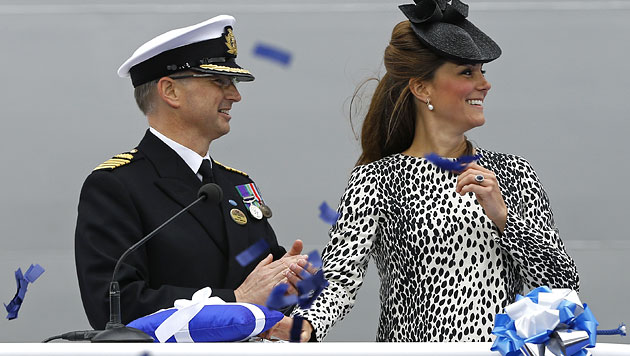 """""""Royal Princess"""": Der neue Star auf den Weltmeeren (Bild: EPA)"""