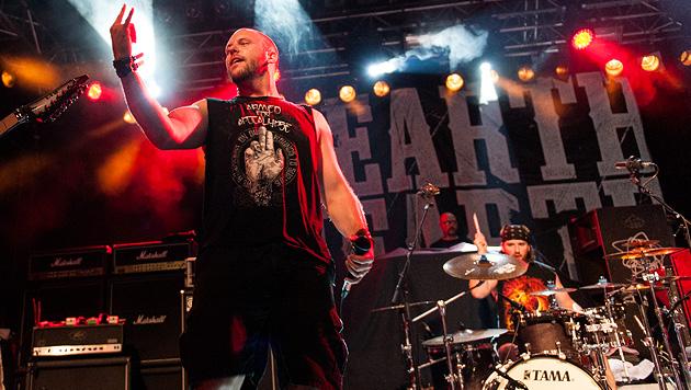 Hatebreed und Unearth sorgten für nasse Wände (Bild: Andreas Graf)