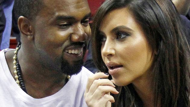 Kanye West und Kim Kardashian angeblich verlobt (Bild: AP)