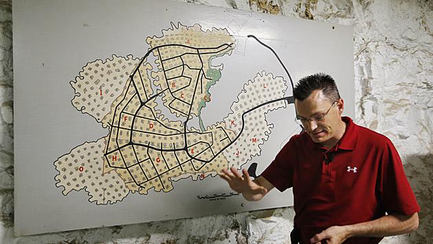 Mieter für größten Schutzbunker der Welt gesucht (Bild: AP)