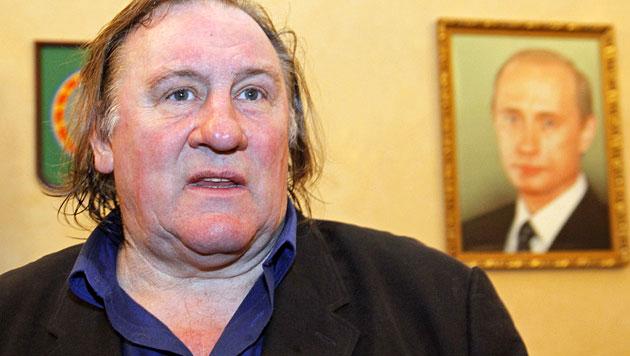 Gerard Depardieu bei Verkehrsunfall leicht verletzt (Bild: AP)