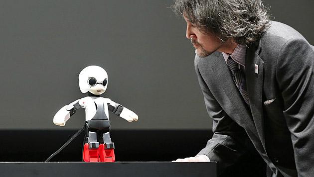 Japan schickt einen sprechenden Roboter zur ISS (Bild: AP)