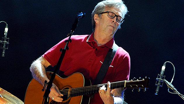 Wohl kein Ersatztermin für Eric Clapton in Wien (Bild: EPA)