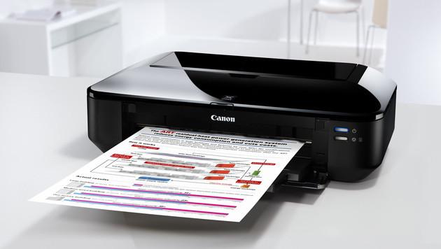 Hersteller zu Abgabe für Drucker & PCs verdonnert (Bild: Canon)