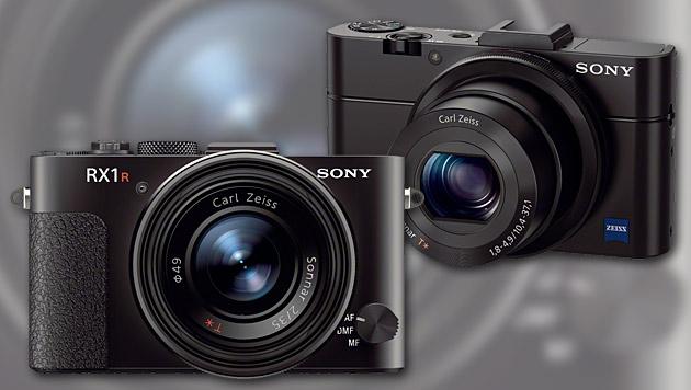 Sony überarbeitet seine Premium-Kompaktkameras (Bild: Sony, krone.at-Grafik)