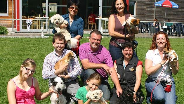 Auf die Schulbank: Auch kleine Hunde brauchen Erziehung (Bild: Claudia Terk)