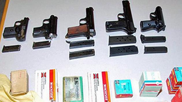 Einbrecher stehlen Waffen aus Haus: Opfer angezeigt (Bild: LPD NÖ)